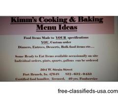 Kimm's Cooking & Baking