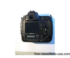 Nikon D4S DSRL Camera