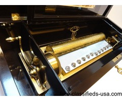 Massive vintage reuge 144 grand cartel music box Tchaikovsky   free-classifieds-usa.com