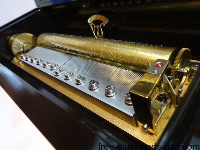 Massive vintage reuge 144 grand cartel music box Tchaikovsky | free-classifieds-usa.com
