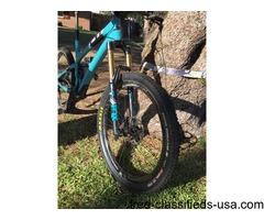 2015 Yeti SB6C Carbon Full Suspension Mt Bike 27.5 Enve Wheels L