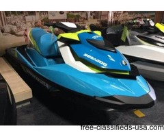2015 Sea-Doo GTI SE 130 PWC with TRAILER and Cover INCLUDED