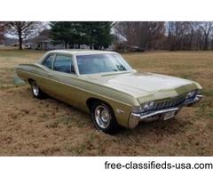 1968 chevy belair all original