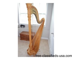 Lyon & Healy Style 23 Concert Grand Pedal Harp