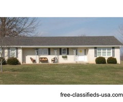 UPSCALE 4 BEDR0OM-FULL BASEMENT-BRICK-WITH PASTURE VIEW
