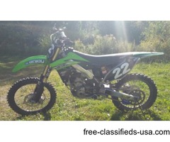 2013 Kawasaki KX250F Great Condition Low Hrs Need Sold