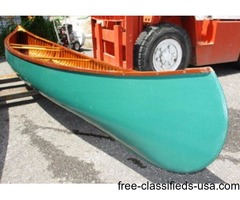 16ft old town canoe