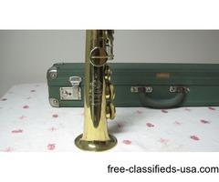 Selmer Paris 5 Digit Mark Vi Soprano Gold Plated Saxphone