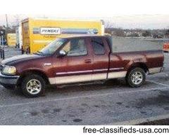 1998 Ford F150 4.2Litre V6 Pickup truck