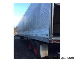 48 ft trailer aluminum floor spring door 1992