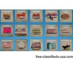 Super Soap Sale - Handmade Natural Bar Soap $3.50