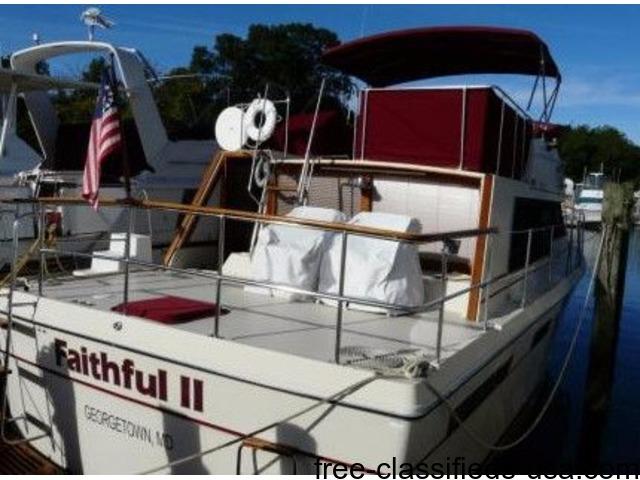 40' '82 Bayliner Bodega 4050 | free-classifieds-usa.com