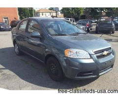 2010 Chevy Aveo low Down&Low WeeklyPaymets