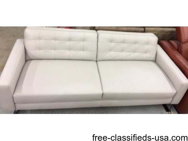 Chateau Du0027ax Positano Leather Sofa