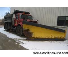 dump plow sander truck