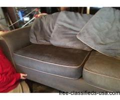 Loveseat, Chair & Ottoman