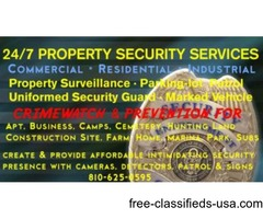 24/7 PROPERTY SECURITY GUARD AND PATROL SERVICES