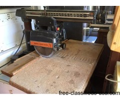 RADIAL ARM SAW MI-EMBAY