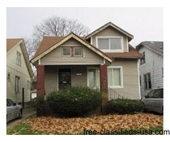 Single Family Home Only $6,500