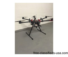 DJI S900 Drone Multicopter w Sony Nex7 and Gimball