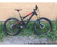 2015 Yeti SB5c Custom PaintBuild XTR carbon mountain bike Medium M