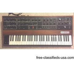 Sequential Circuit Prophet 5 Keyboard