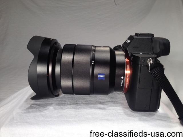 Sony Alpha a7ii Full Frame camera