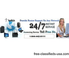 Dial @+1-844-442-0111 Belkin Router Help Number USA