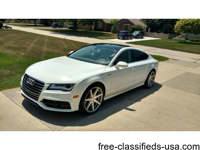 2012 audi a7 s line prestige cars escanaba michigan. Black Bedroom Furniture Sets. Home Design Ideas