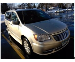 2012 Chrysler Town and Country Mobility Handicap Van