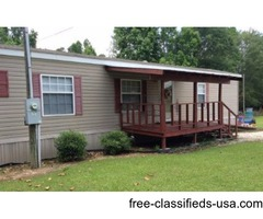 2011 single wide. 3bed,2full bath, 2porches