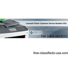 Contact Lexmark Printer Service Expert @ 1-844-442-0111