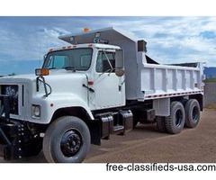 2002 International 10 Wheel Dump Truck Low Miles