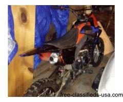 125 race pit bike
