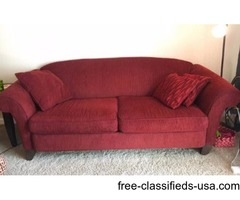 Sofa/couch and oversized chair