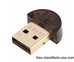 Golden Planted USB Bluetooth V4.0 Dongle, Suitable for Networking / Fax / Dial-up