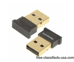 Mini USB Bluetooth 3.0 USB Adapter for Handfree / Laptop / Mobile / Printer / Stereo