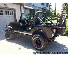 1986 Jeep CJ CJ-7