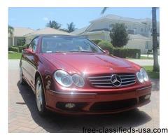 2005 Mercedes-Benz CLK-Class CLK500