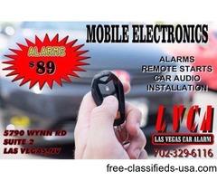 Car Alarm Installation