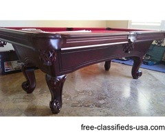 POOL TABLES , BILLIARD TABLE ( free delivery and set up )