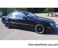 2000 Mercedes Benz CL 500 - Black w/Charcoal Interior