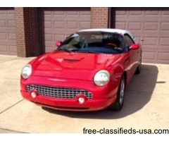 Beautiful 2004 Ford Thunderbird convertible
