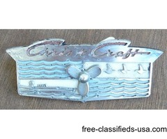 Original Chris Craft PROP Logo Plate