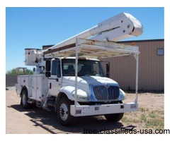 2005 International 60Ft Bucket Truck