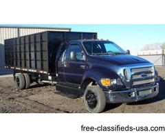 2004 Ford F650, Dump Bed