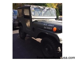 MILITARY JEEP M38A1