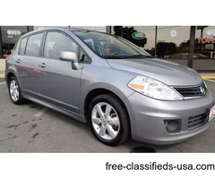 2012 Nissan Versa 1.8 SL 4dr Hatchback! ONE OWNER Clean Carfax