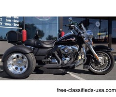 NE OWNER Clean Carfax 2009 Harley-Davidson Road King Trike