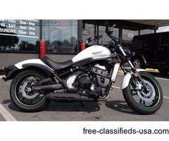 2015 Kawasaki Vulcan S ABS, Pearl Crystal White, 1,458 miles